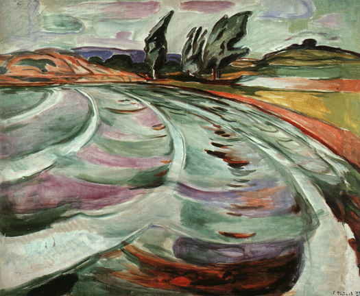 Edvard Munch - The Wave - 1921