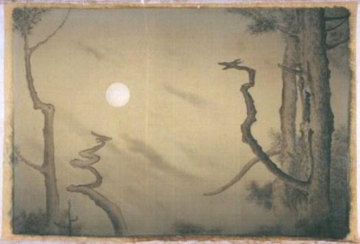 Yokoyama Taikan - Moonlit Forest