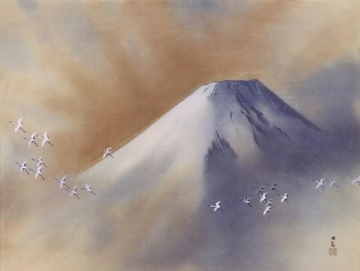 Yokoyama Taikan - Mount Fuji