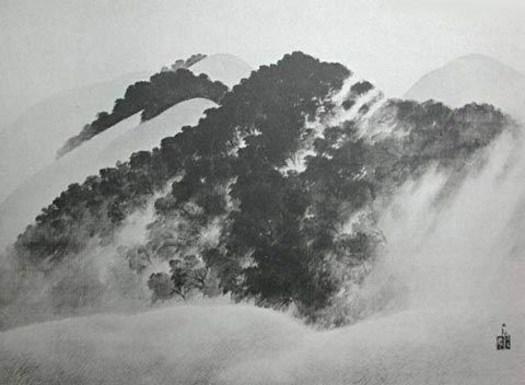 Yokoyama Taikan - Snowy Mountains