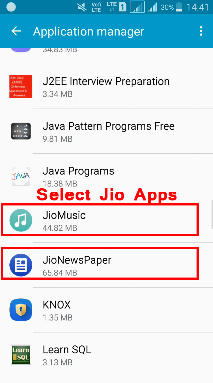 Stop Jio Pop up