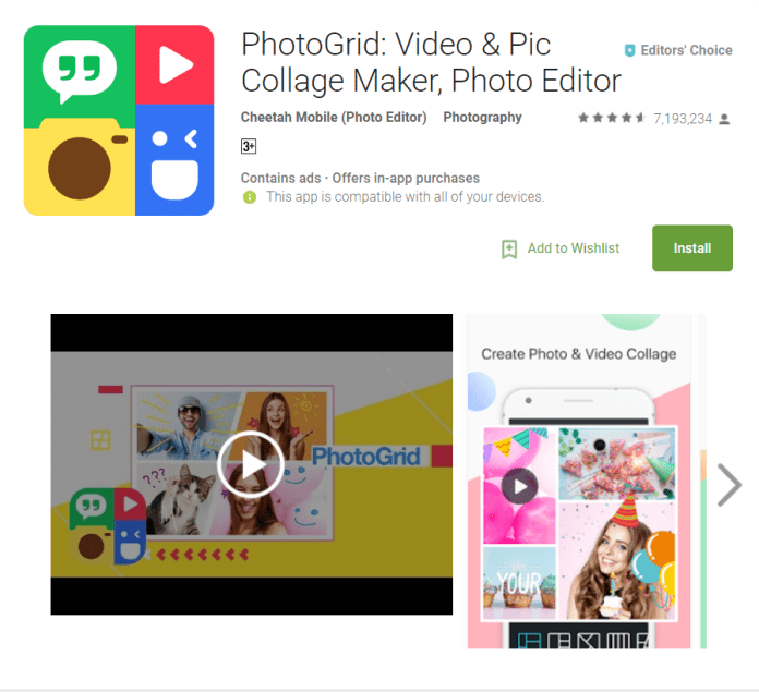 Top 10 Photo Editor For Android Phones