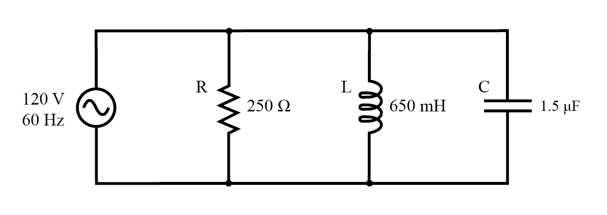 5.3 Parallel R, L, and C