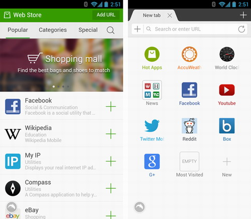 Dolphin Browser Added A Mobile Webapp Store, Too  · TechNode