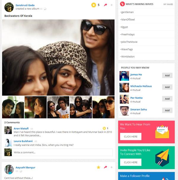 Vebbler Personal Social Network