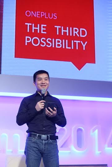 Pete Lau, CEO of OnePlus, at Startup Nation Summit 2014