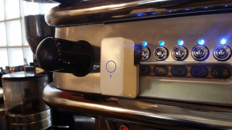 Espresso machine (pushbutton type)