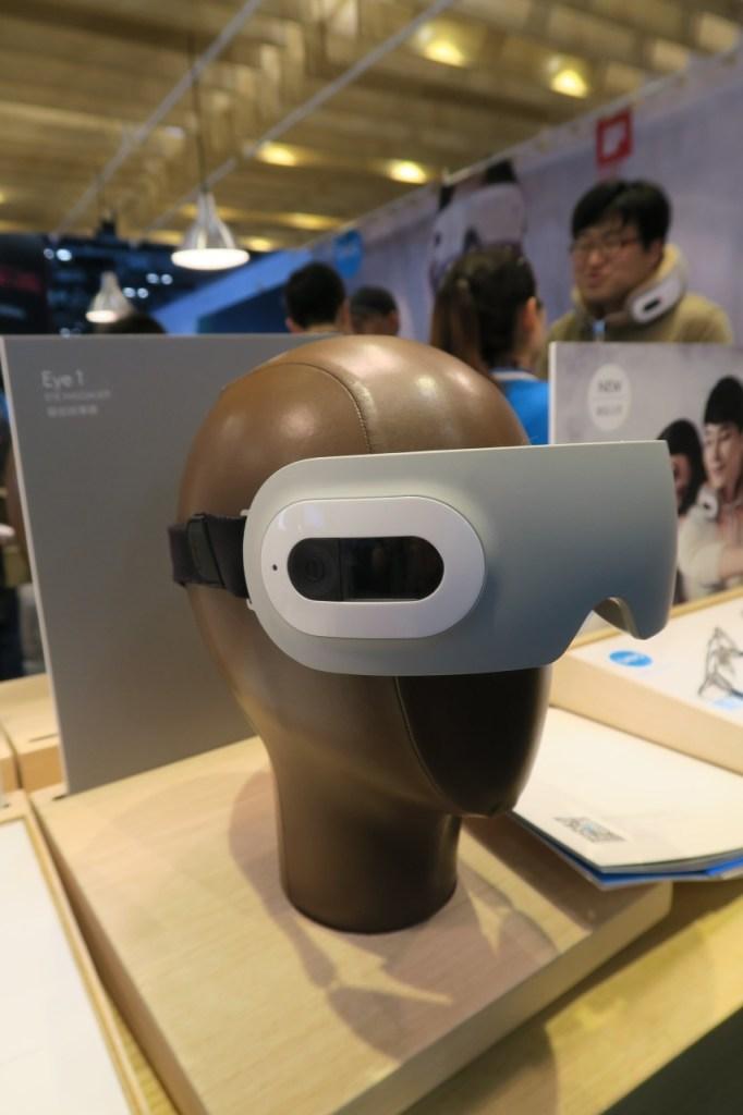 VR goggles? Nope - an eye massager!