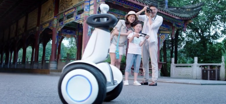 Ninebot Plus can shoot videos (Image Credit: Xiaomi official video)