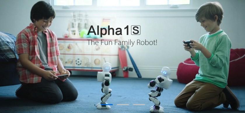 UBTECH ALPHA 1 robots