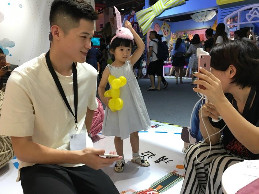 Taobao merchant of Blue Papa (蓝小爸, Lanxiaoba) Chen Shuai Shuai (Image Credit: TechNode)