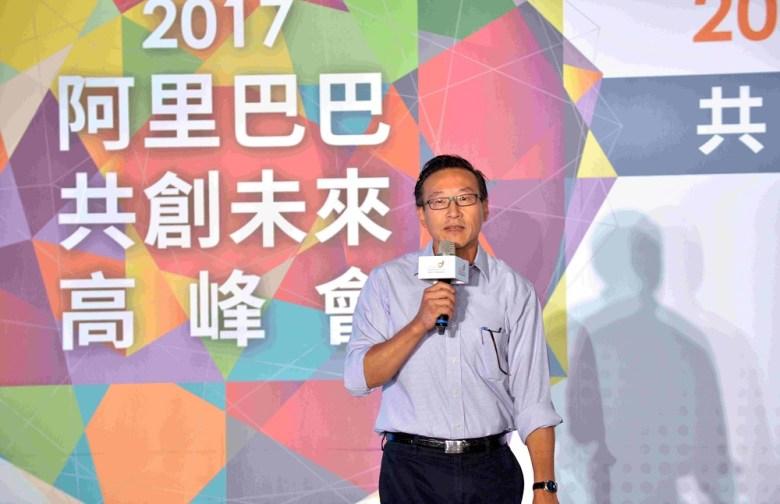Joe Tsai at the recent Alibaba Taiwan Entrepreneurs Fund Forum in Taipei. Image credit: Alibaba