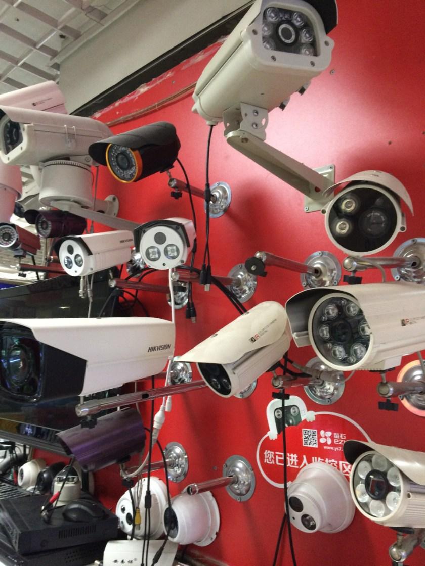 CCTV surveillance cameras Hikvision Frank Hersey