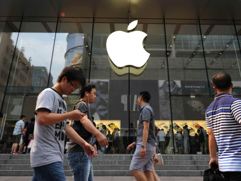 apple china US data government