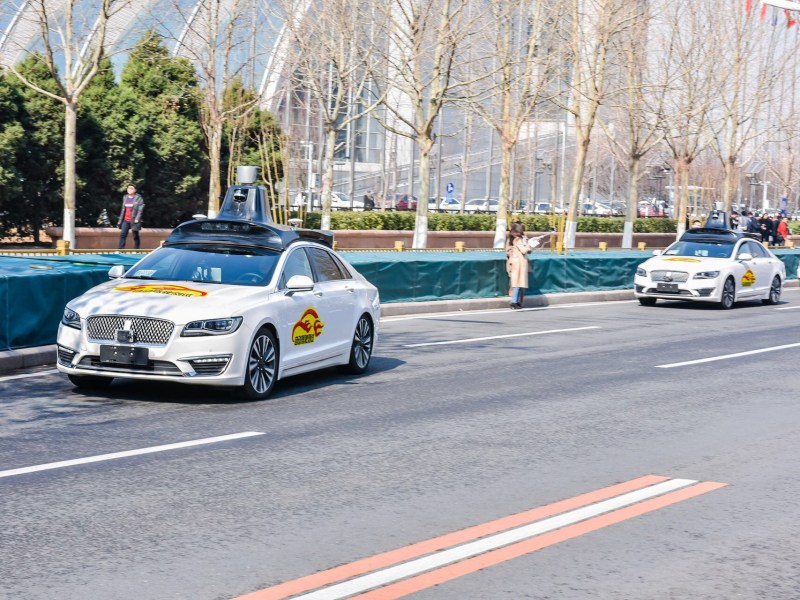 baidu av v2x self driving autonomous vehicles