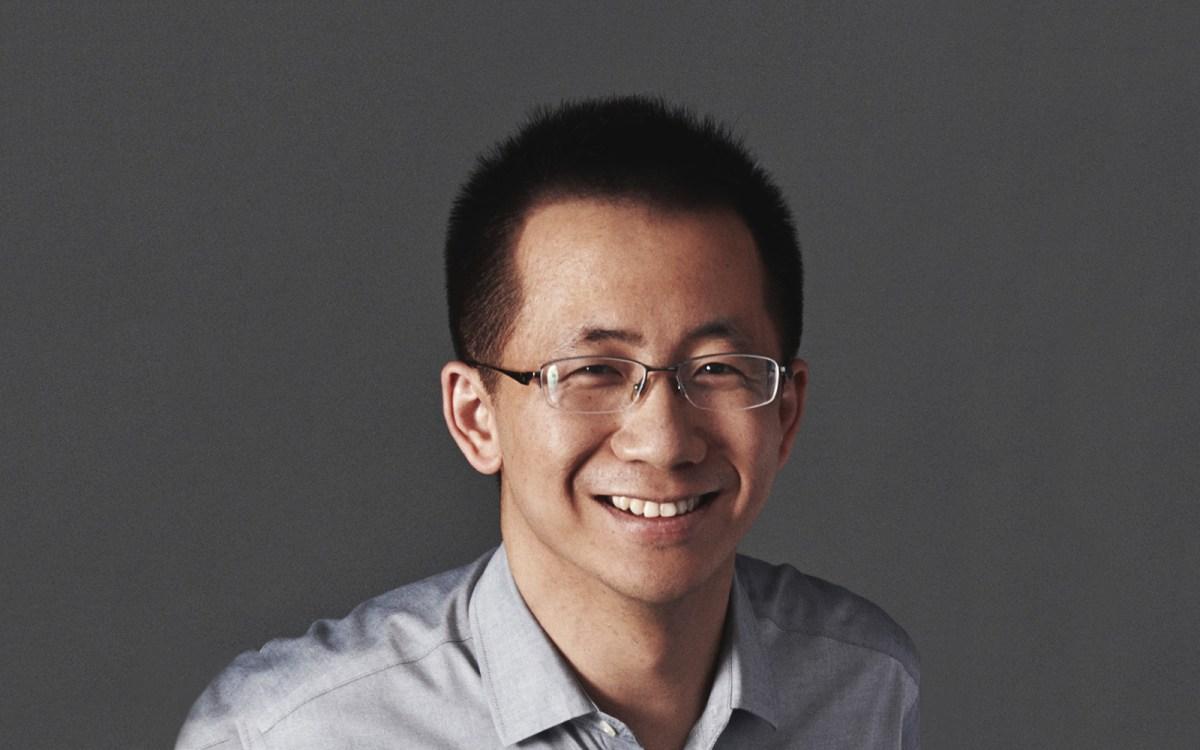 Zhang Yiming ByteDance founder