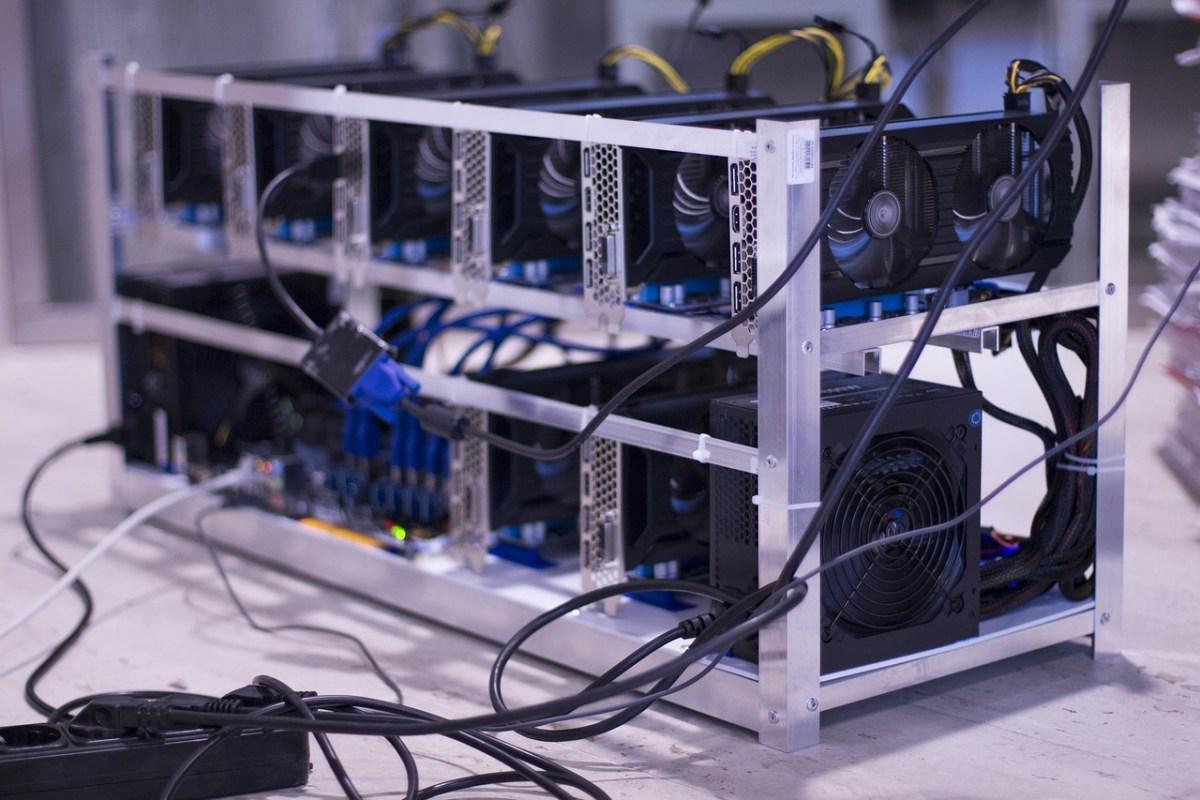 cryptocurrency mining craze