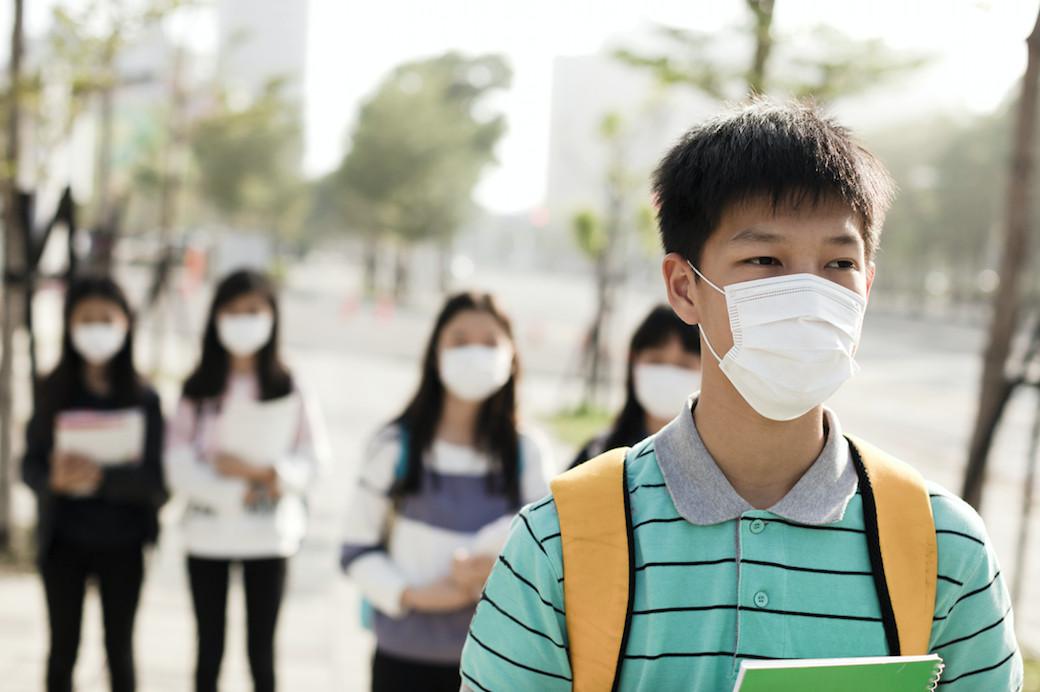 virus infection coronavirus mask