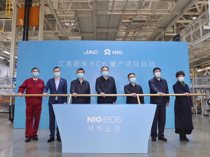 nio electric vehicles china tesla