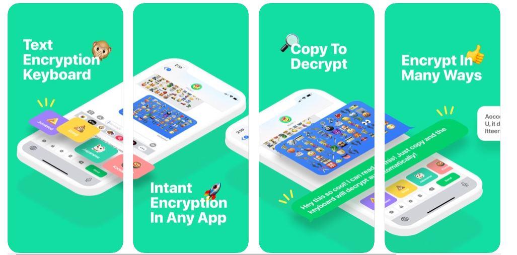 boom keyboard emoji encryption apple removal app store