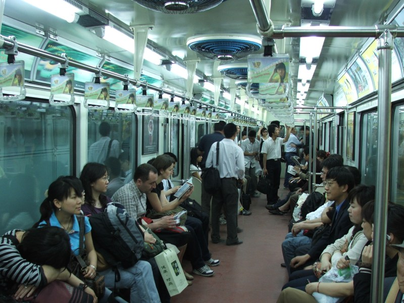 Beijing metro AI intelligent system facial recognition masks identify technology China