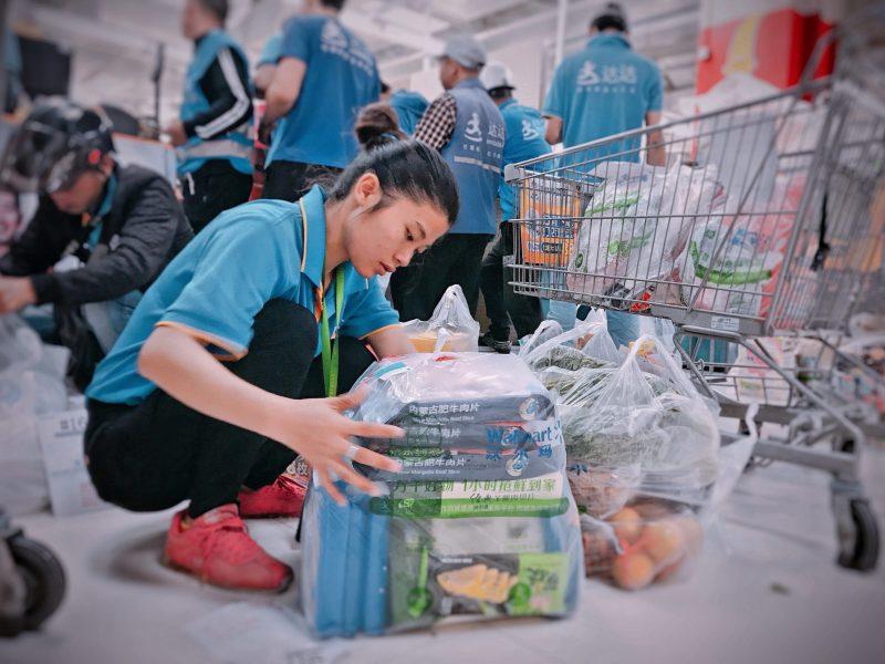 JD Daojia US JD.com Walmart IPO