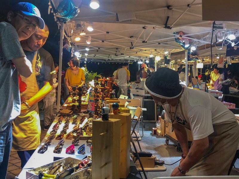 street vendors street market Sinan Mansions Shanghai