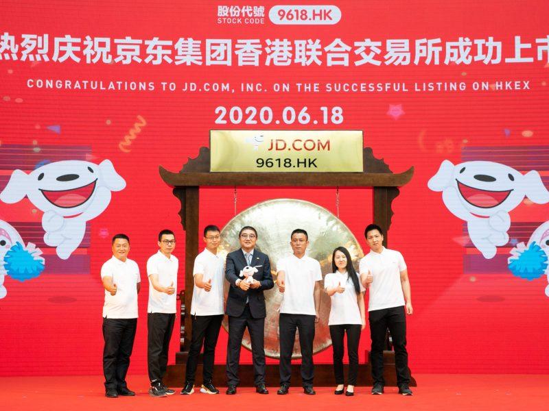 jd.com IPO hong kong ecommerce retail alibaba