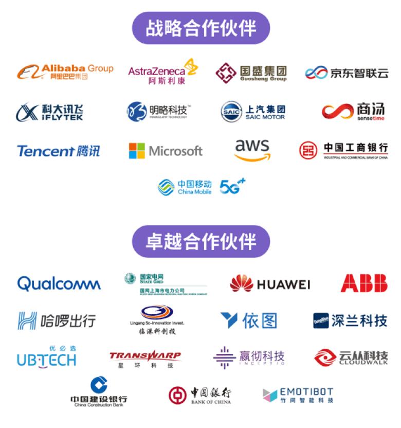WAIC 2020 partners