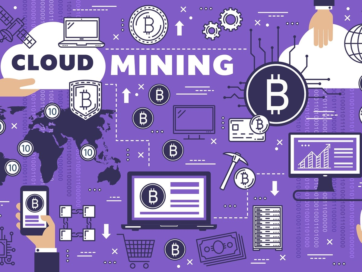Bitcoin Cloud Mining, Cryptocurrency, Blockchain