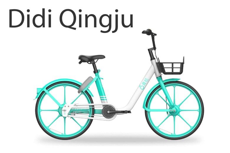 Didi Qingju bike rental