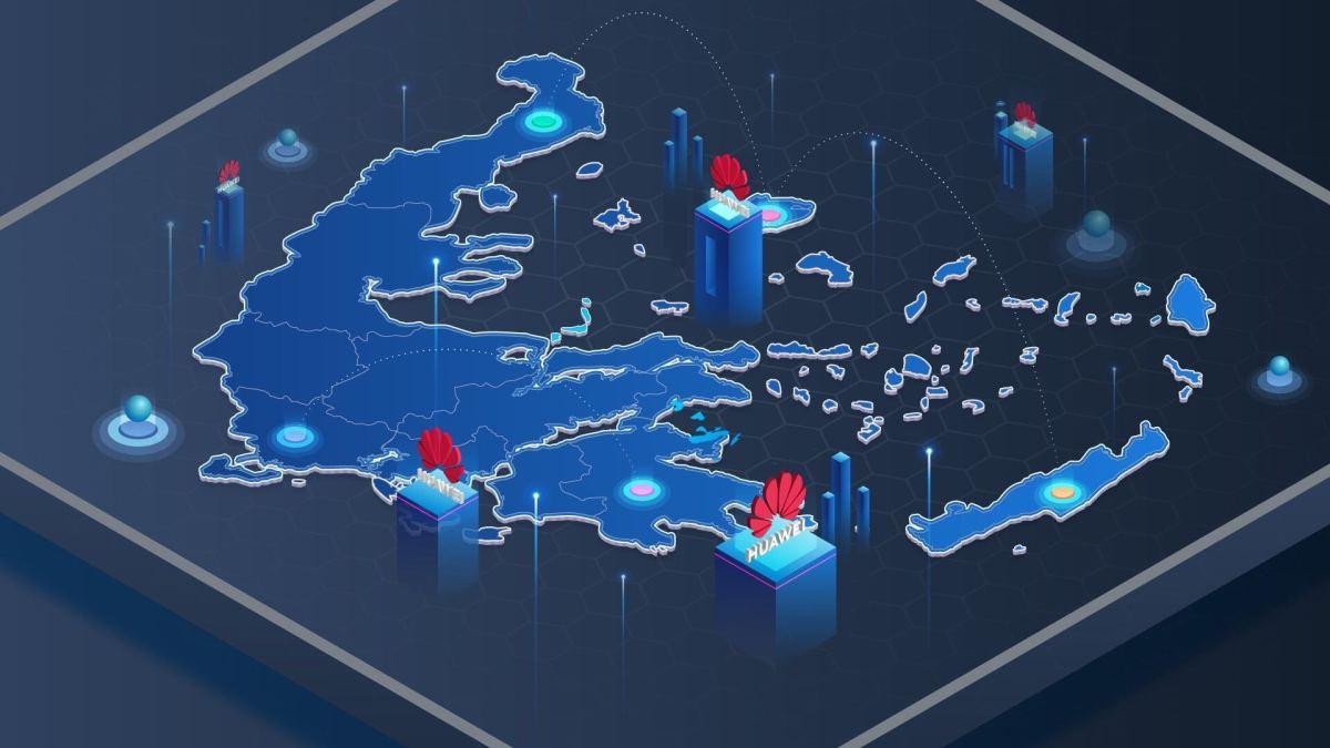 Huawei Greece tech telcos telecoms US China techwar