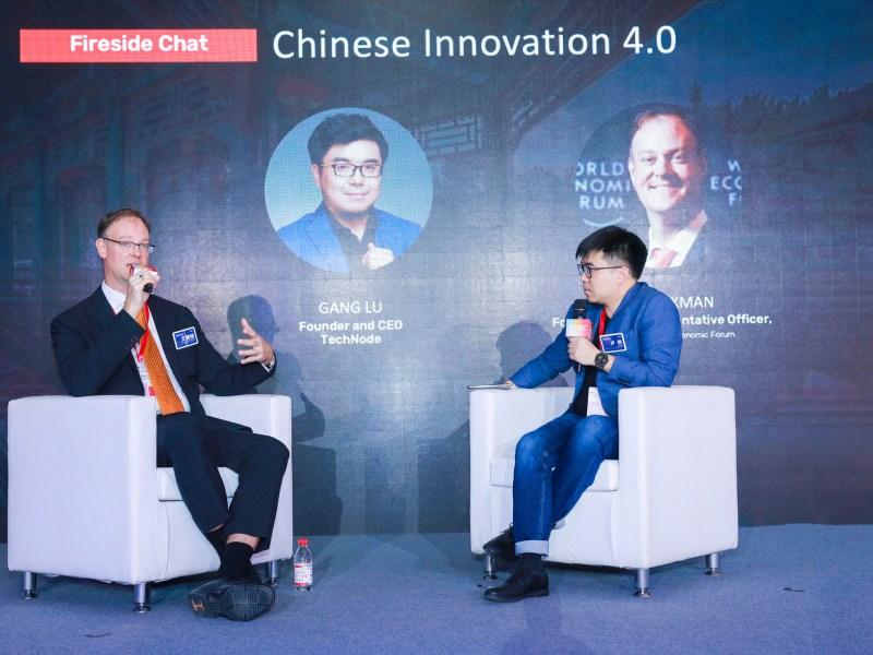 David Aikman, former chief representative officer, Greater China, World Economic Forum
