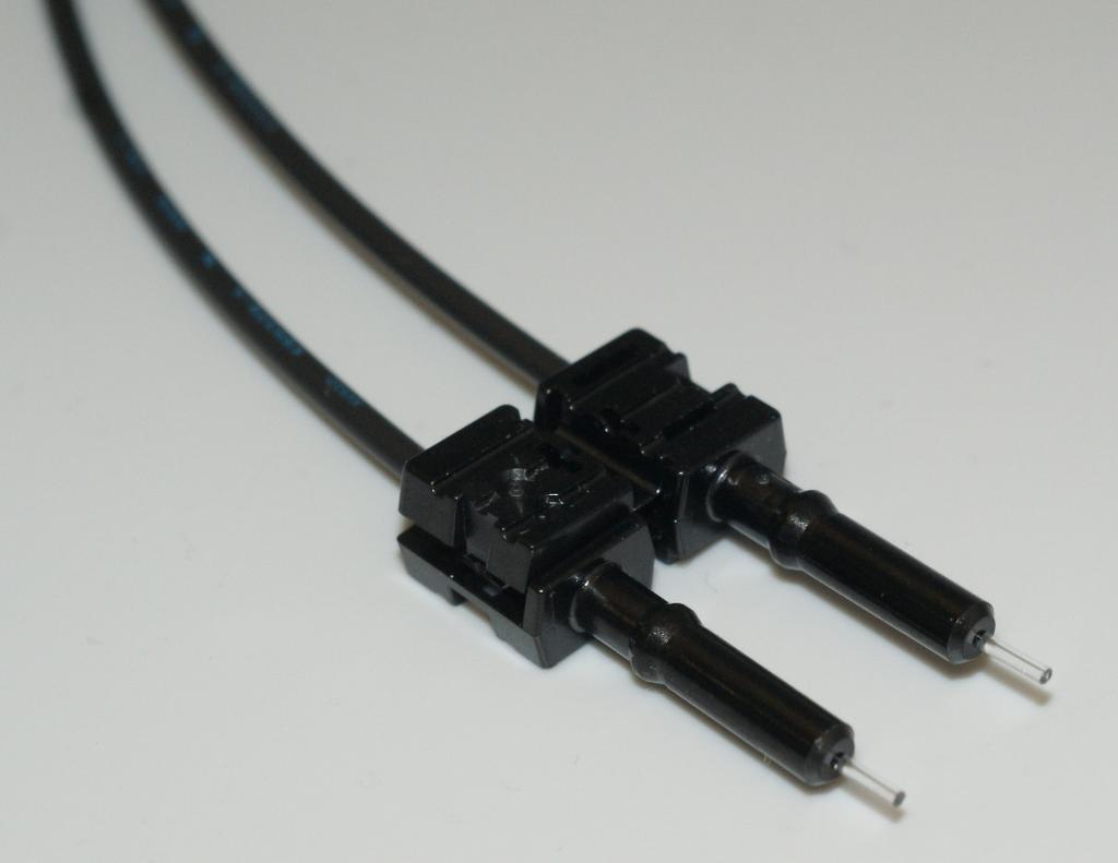 hight resolution of simplex connector crimp rings cannot be used with duplex connectors and duplex connector