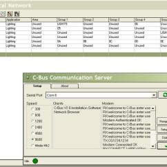 Cbus Dali Wiring Diagram Junction Box C Bus Telephone Interface Training Manual V T Series Pdf Serial Pci Or Cni