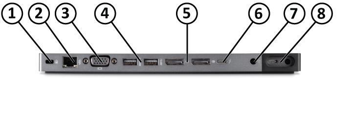 HP USB Travel Dock HP Elite USB-C Docking Station HP