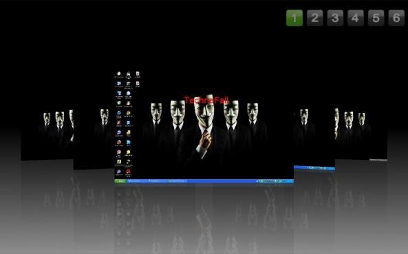 use six desktop simultaneously