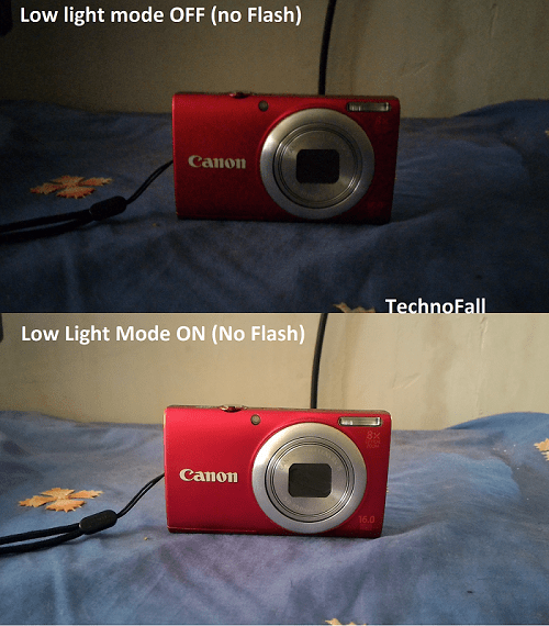 ASUS Zenfone 2 DELUXE low light comparison