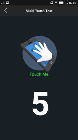 Multipoint touch - 5