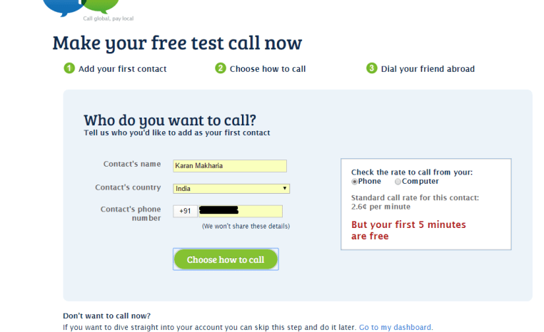 How to make free calls anywhere in the world