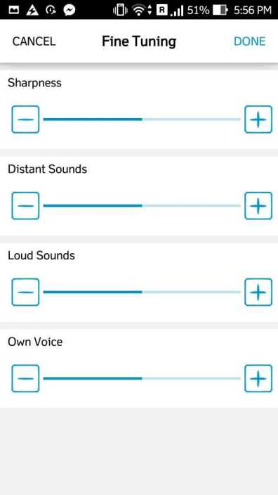 Quadio Q+ advanced audio level customizer