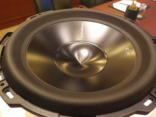 Rockford Fosgate P3 D4-12 Punch series subwoofer 600 watts RMS