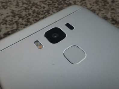 Rear Camera, Fingerprint sensor