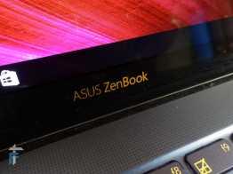 ASUS Zenbook 3 logo