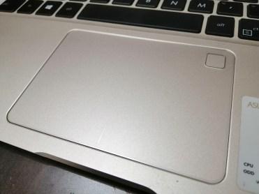Touchpad with Fingerprint sensor