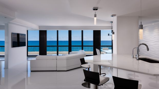 Living Room Apartment Design