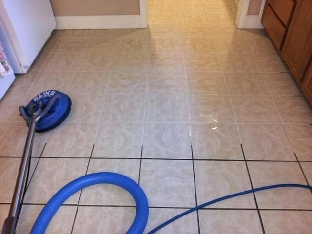 tile flooring look brand new