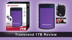 Transcend Store Jet 25H3P 2.5-inch 1TB Portable External Hard Drive