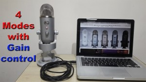 Blue Yeti USB Microphone review | 4 recording modes