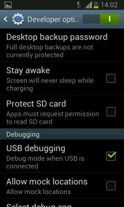 how to enable usb debugging on android devices